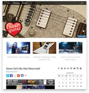 I Heart Guitar Blog