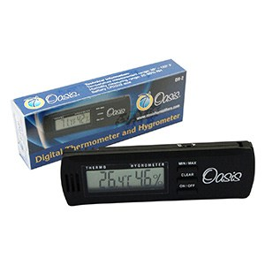 Oasis OH-2 Digital Hygrometer w/clip