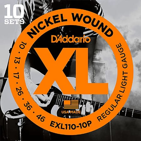 D'Addario EXL110-10P Guitar Strings