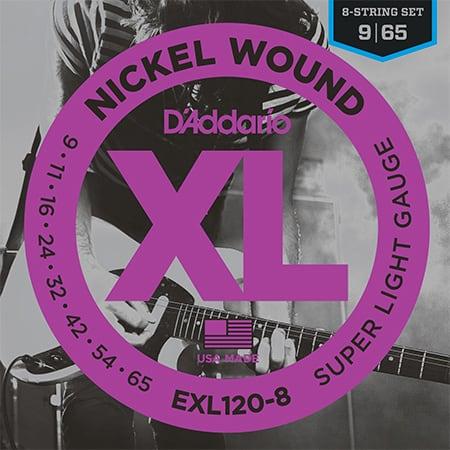 D'Addario EXL120-8 Guitar Strings