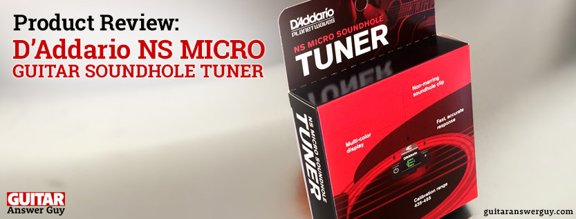 D'Addario NS Micro Soundhole Tuner - Product Review