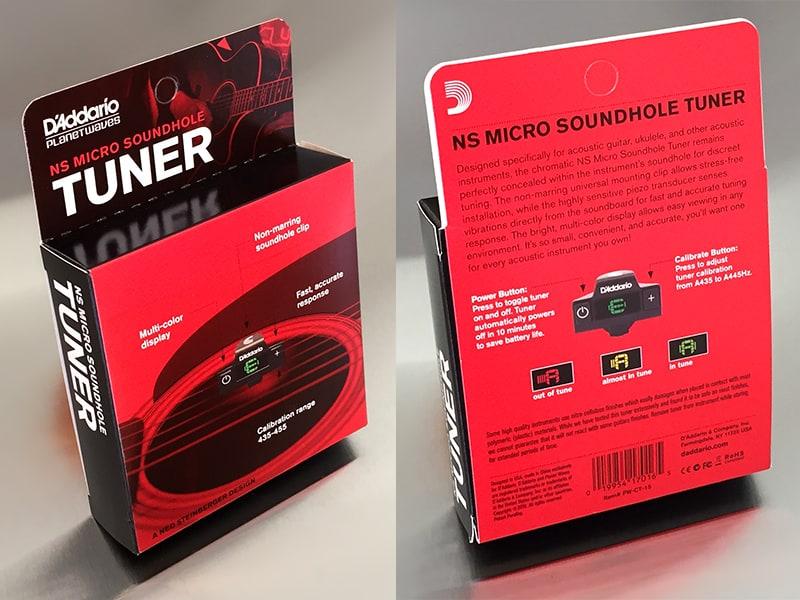 D'Addario NS Micro Soundhole Tuner Box