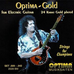 Optima Brian May 24k Gold Guitar Strings