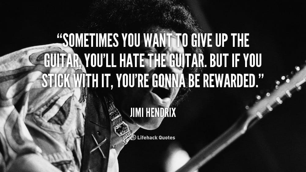 Hendrix quote
