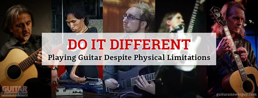 Playing Guitar Despite Physical Limitations