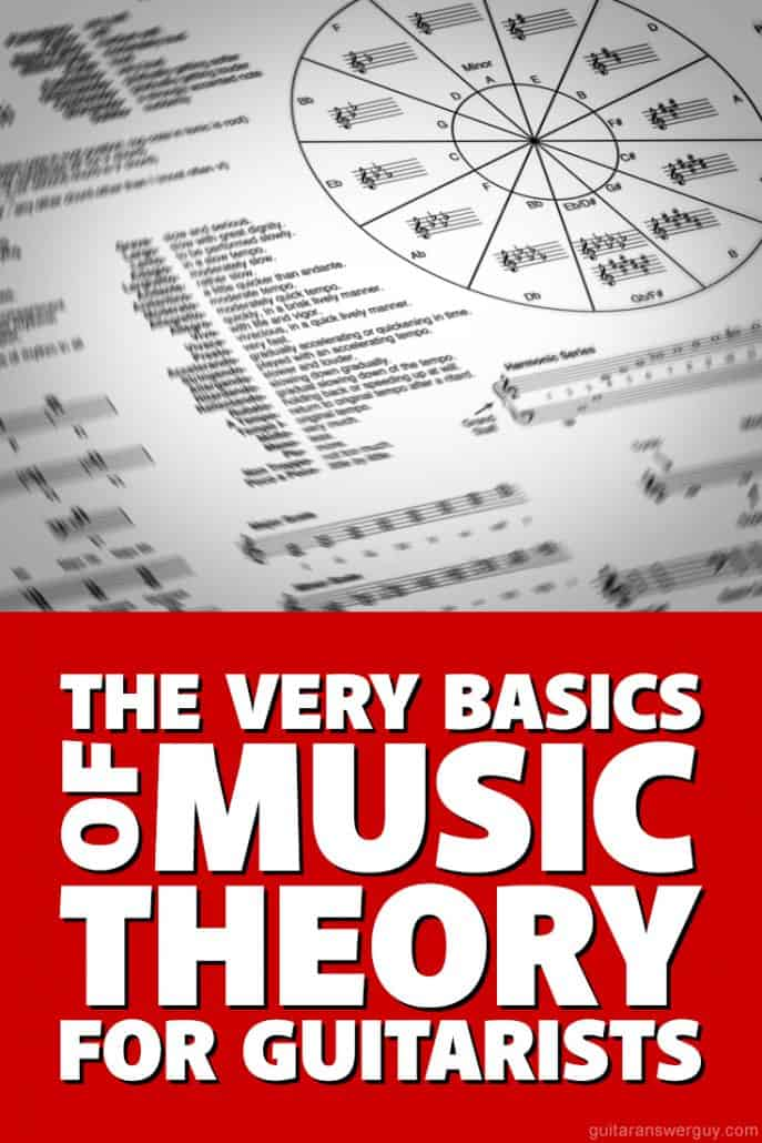 The Very Basics of Music Theory for Guitarists