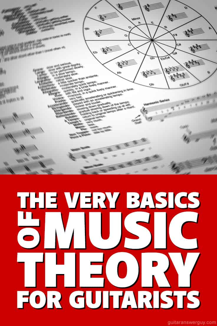 Here you'll learn the very basics of #music theory for #guitar. Includes practice exercises