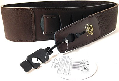 Lock-It Leather Guitar Strap w/Patented Locking Technology