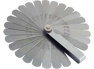 OEMTOOLS 26 Blade Feeler Gauge Set