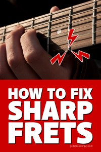 How to Fix Sharp Guitar Frets (Without Filing)