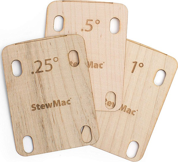 Guitar Neck Pocket Shims by StewMac