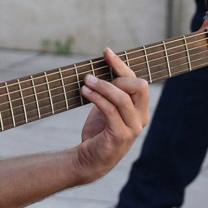 Playing guitar helps develop coordination