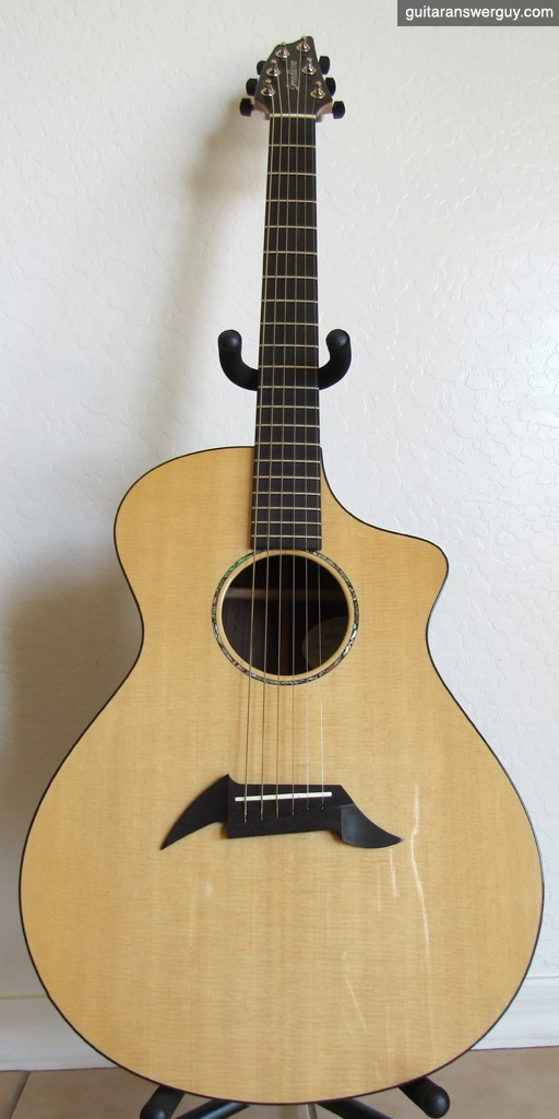 My custom Breedlove acoustic