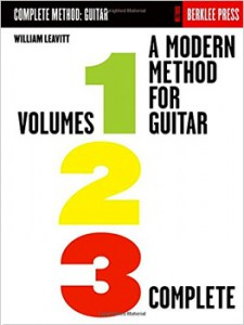 A Modern Method for Guitar - Volumes 1, 2, 3