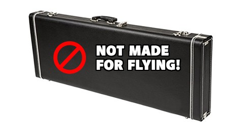 This case isn't made for flying