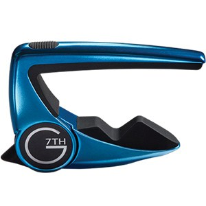 G7th Performance 2 Capo - LimeLight Blue