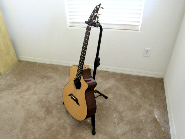 The acoustic got some hangtime as well