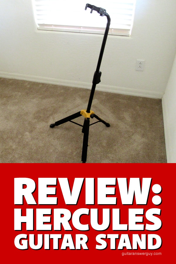 Review: In-depth with the Hercules guitar stand