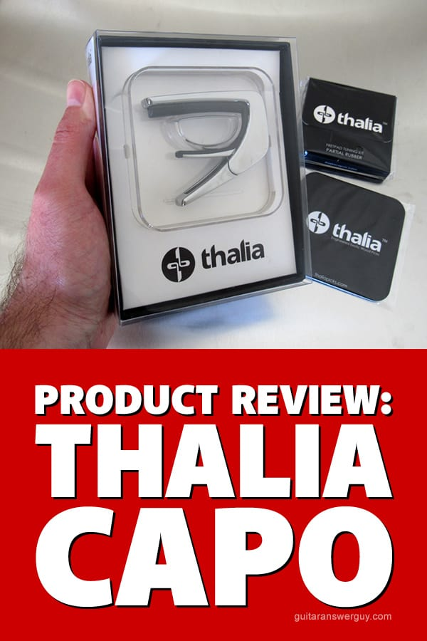 Product Review: Thalia Guitar Capo