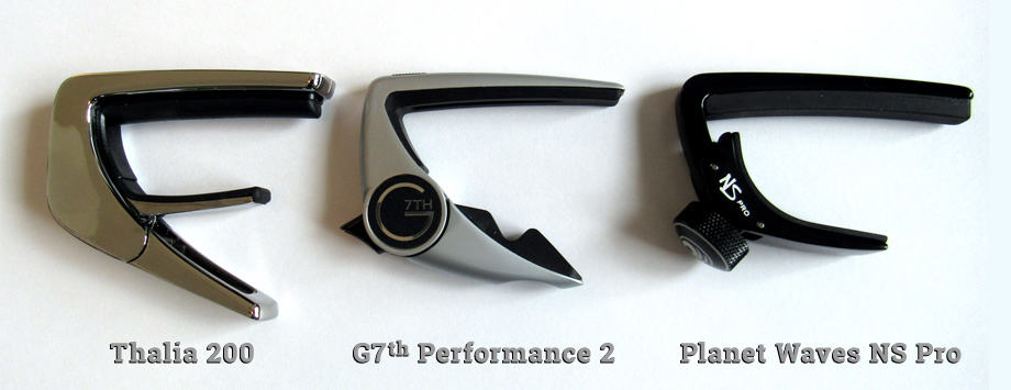 Thalia capo size comparison