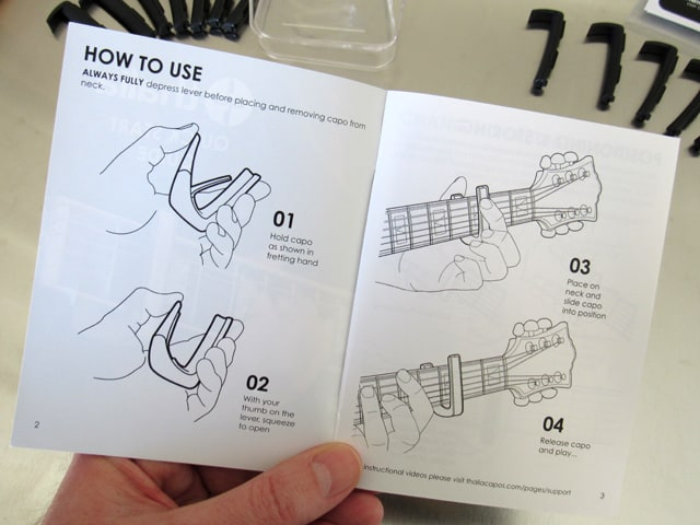 Thalia instruction booklet