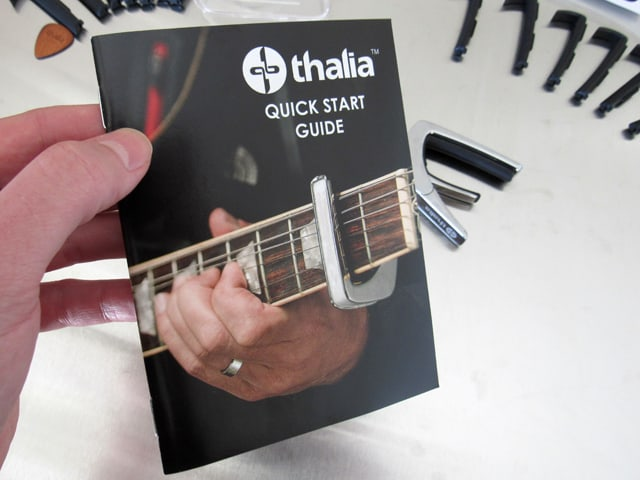 Thalia capo instruction booklet