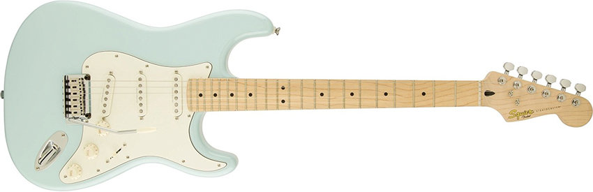 Squier by Fender Deluxe Stratocaster Electric Guitar