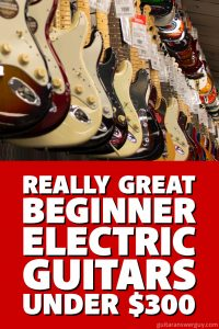 great electric guitars for beginners that don 39 t cost a fortune. Black Bedroom Furniture Sets. Home Design Ideas