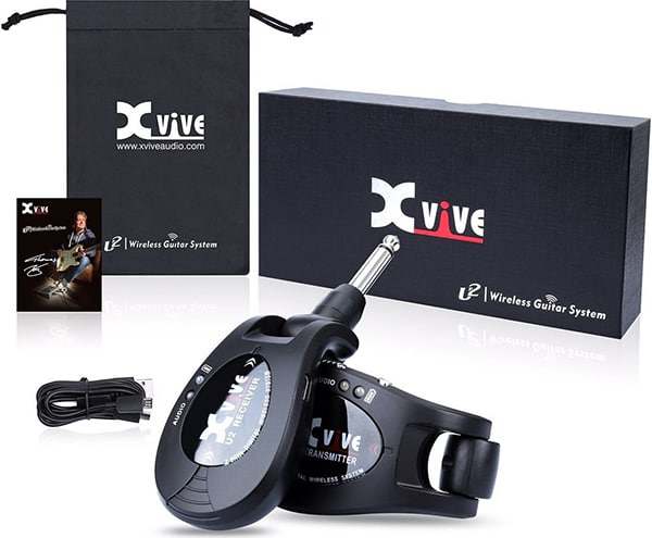 Xvive U2 rechargeable 2.4GHZ Wireless Guitar System