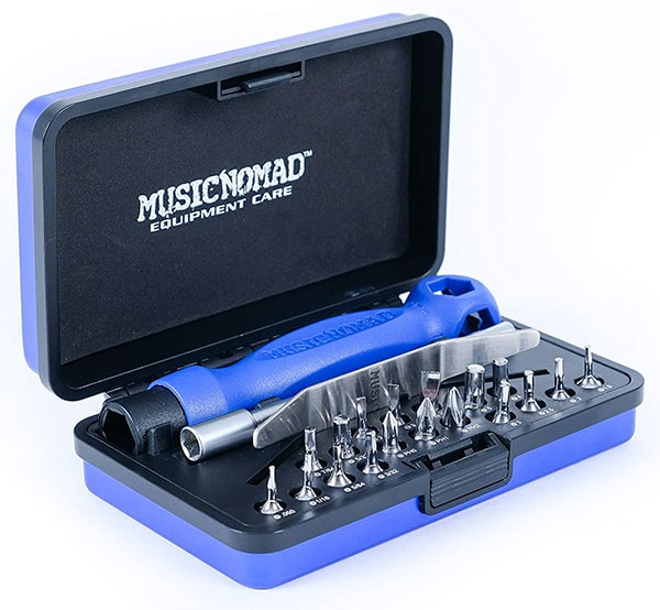 Music Nomad 26-Piece Guitar Tech Screwdriver and Wrench Set