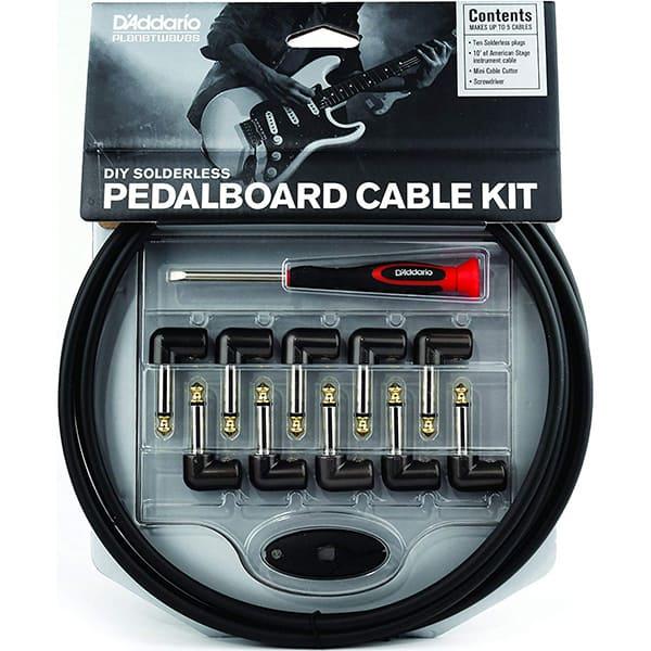D'Addario DIY Solderless Pedalboard Kit