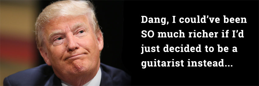 Playing guitar probably won't make you rich