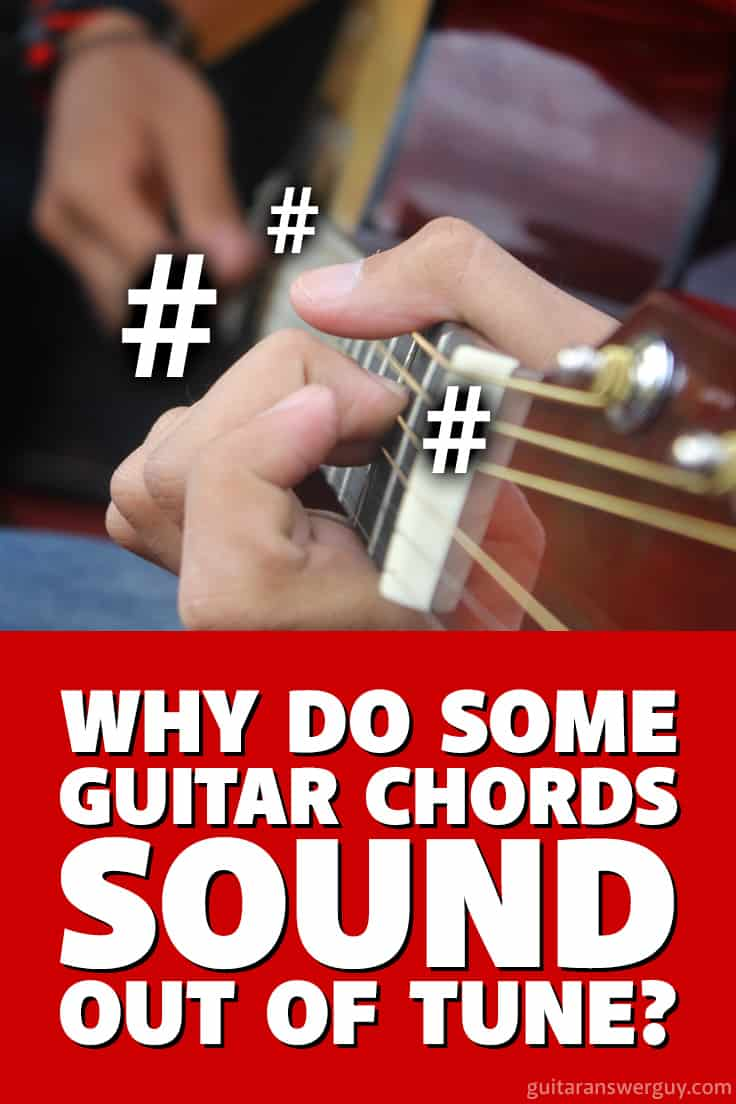 #Guitar in tune, but some chords still sound out of tune? What's going on? Read to find out...
