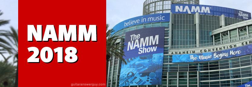 The NAMM Show 2018 in Anaheim California