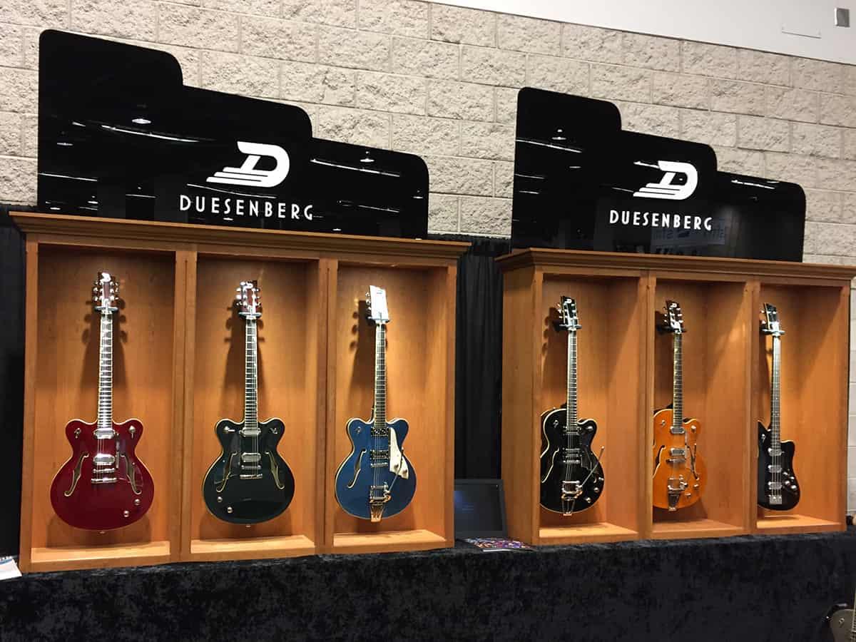 Dusenberg Guitars - NAMM 2018, Day 1