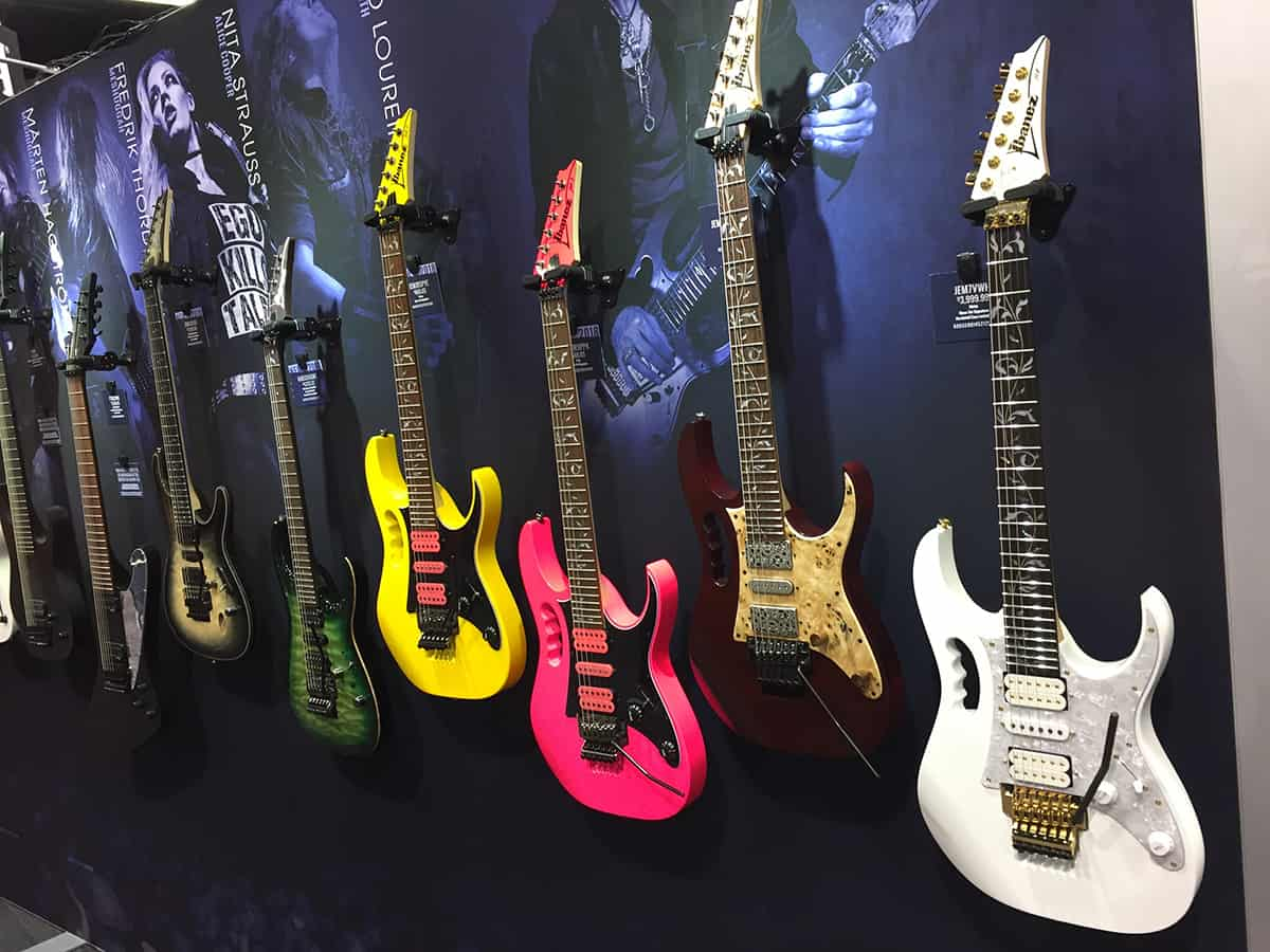 Ibanez Guitars at NAMM 2018