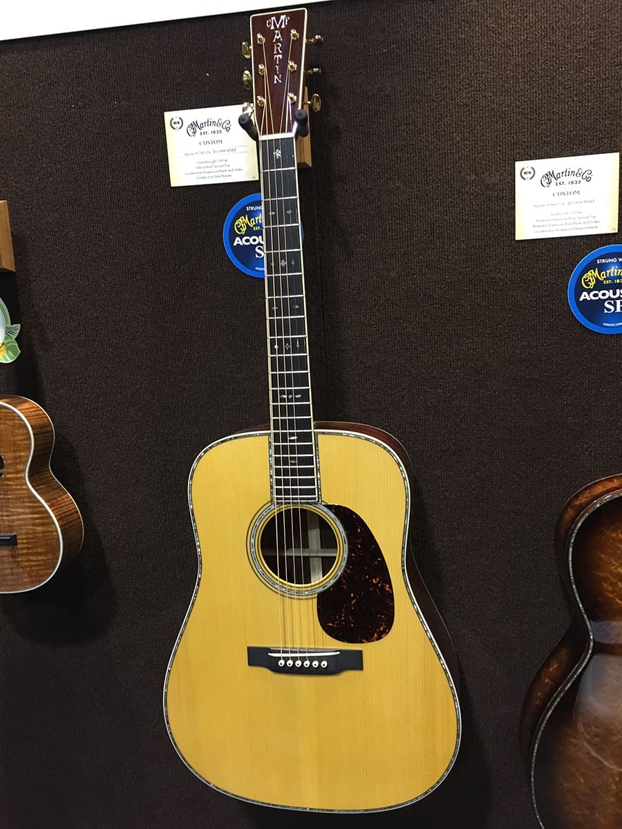 A $16,000 Martin Custom Acoustic Guitar