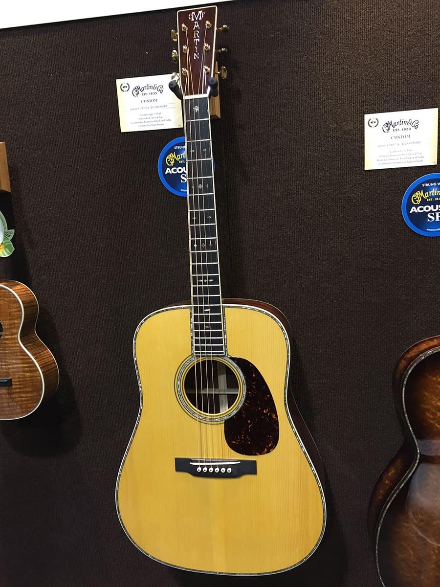 A $16,000 Martin Custom Acoustic Guitar