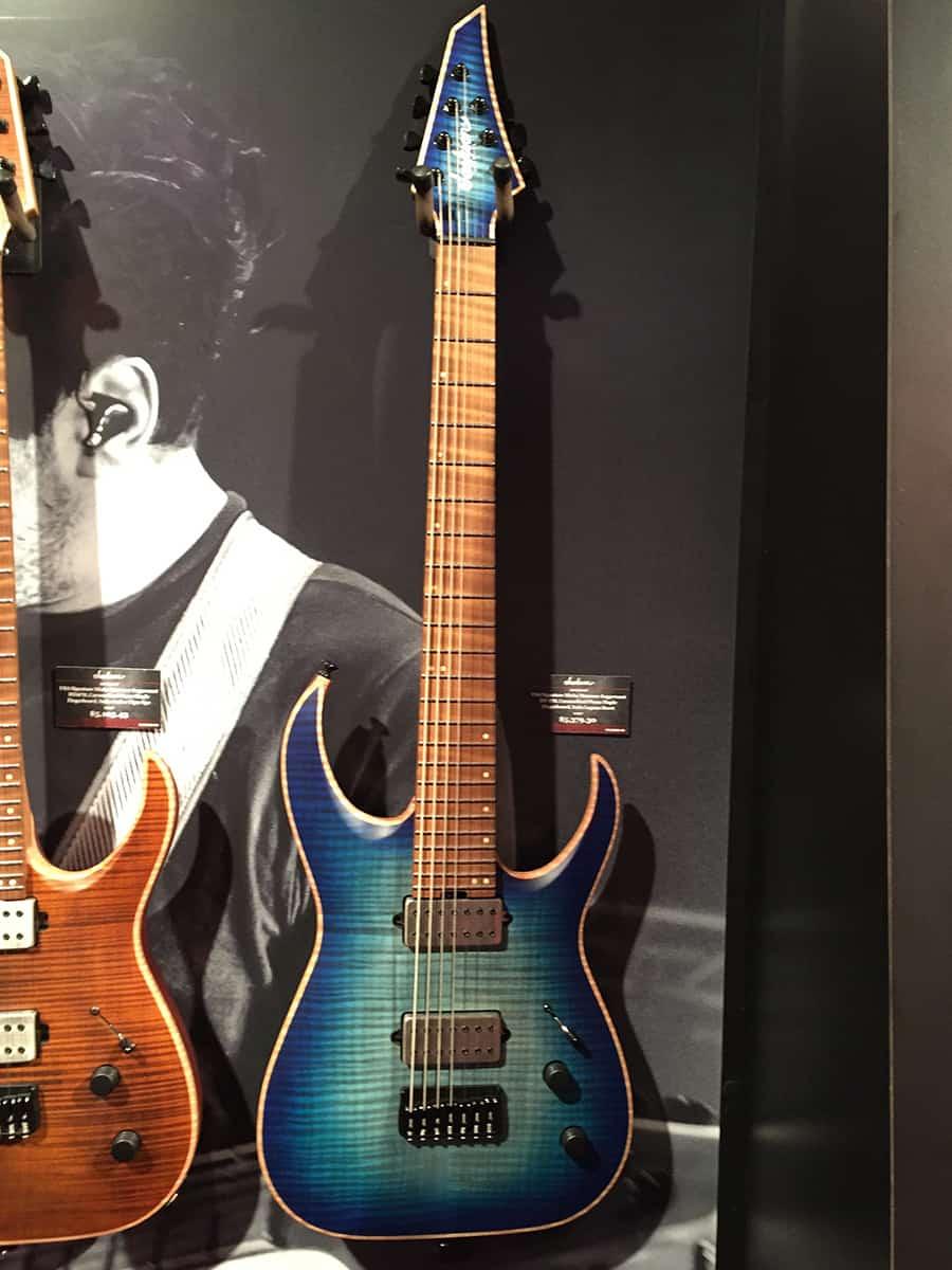 Jackson Misha Mansoor Model Guitar at NAMM 2018