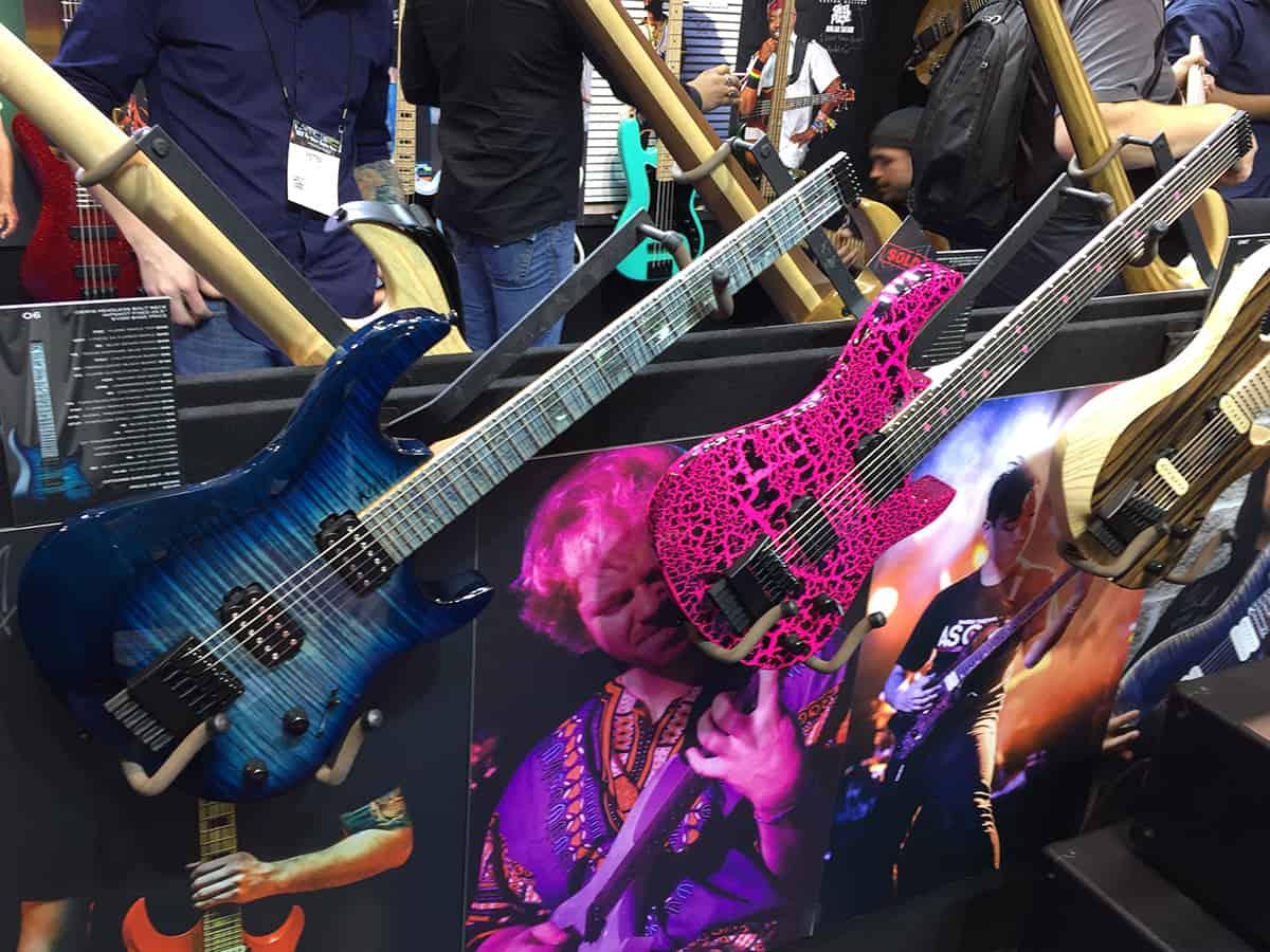 Two more impressive Kiesel guitar at NAMM 2018