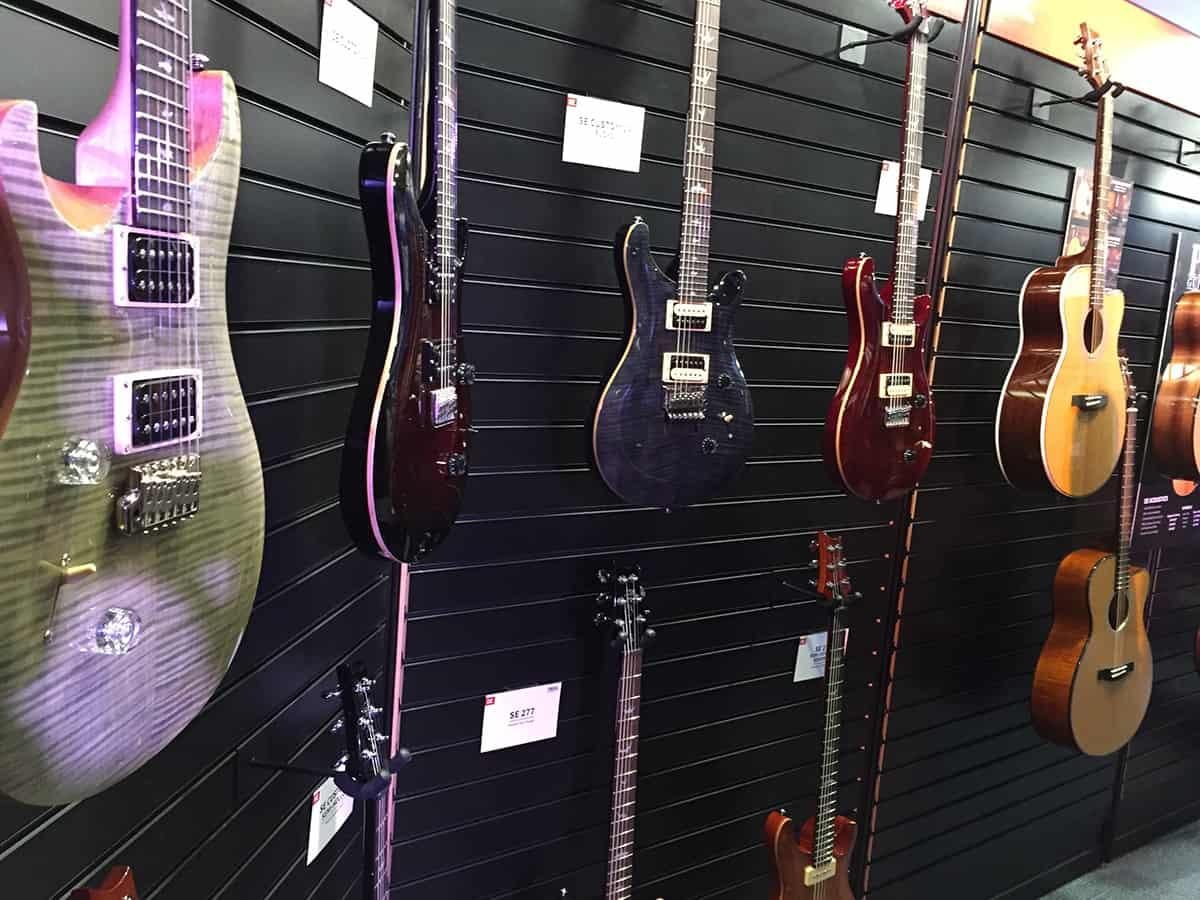Paul Reed Smith Guitars at NAMM 2018