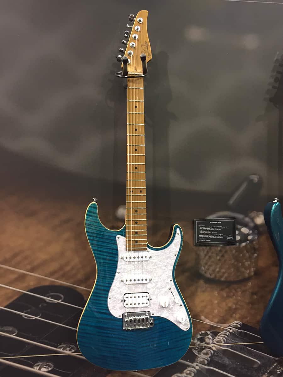 Suhr Guitar at NAMM 2018