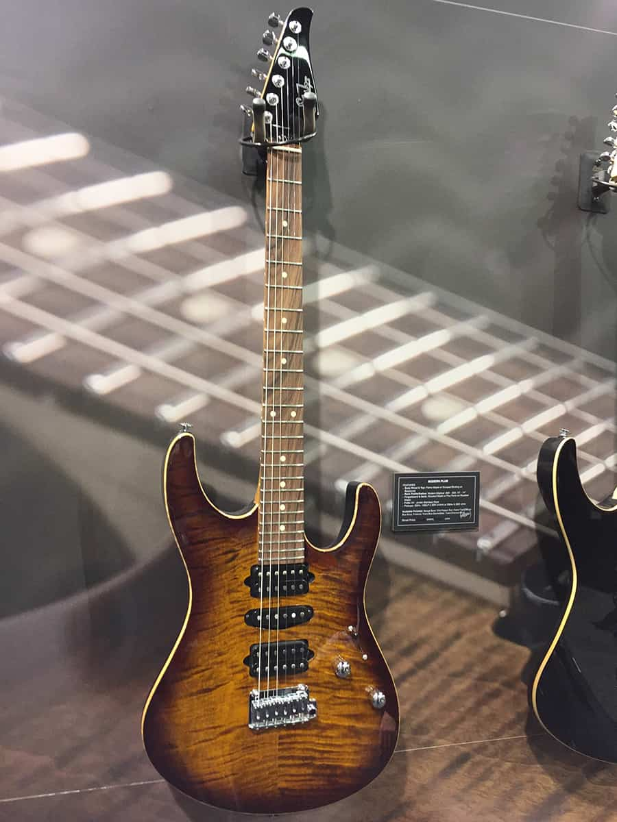 Suhr Guitar at NAMM 2018