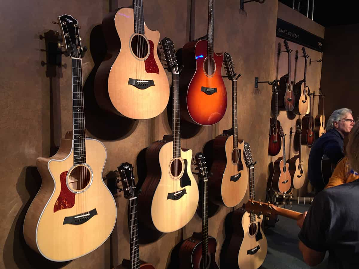Taylor Guitars at NAMM 2018