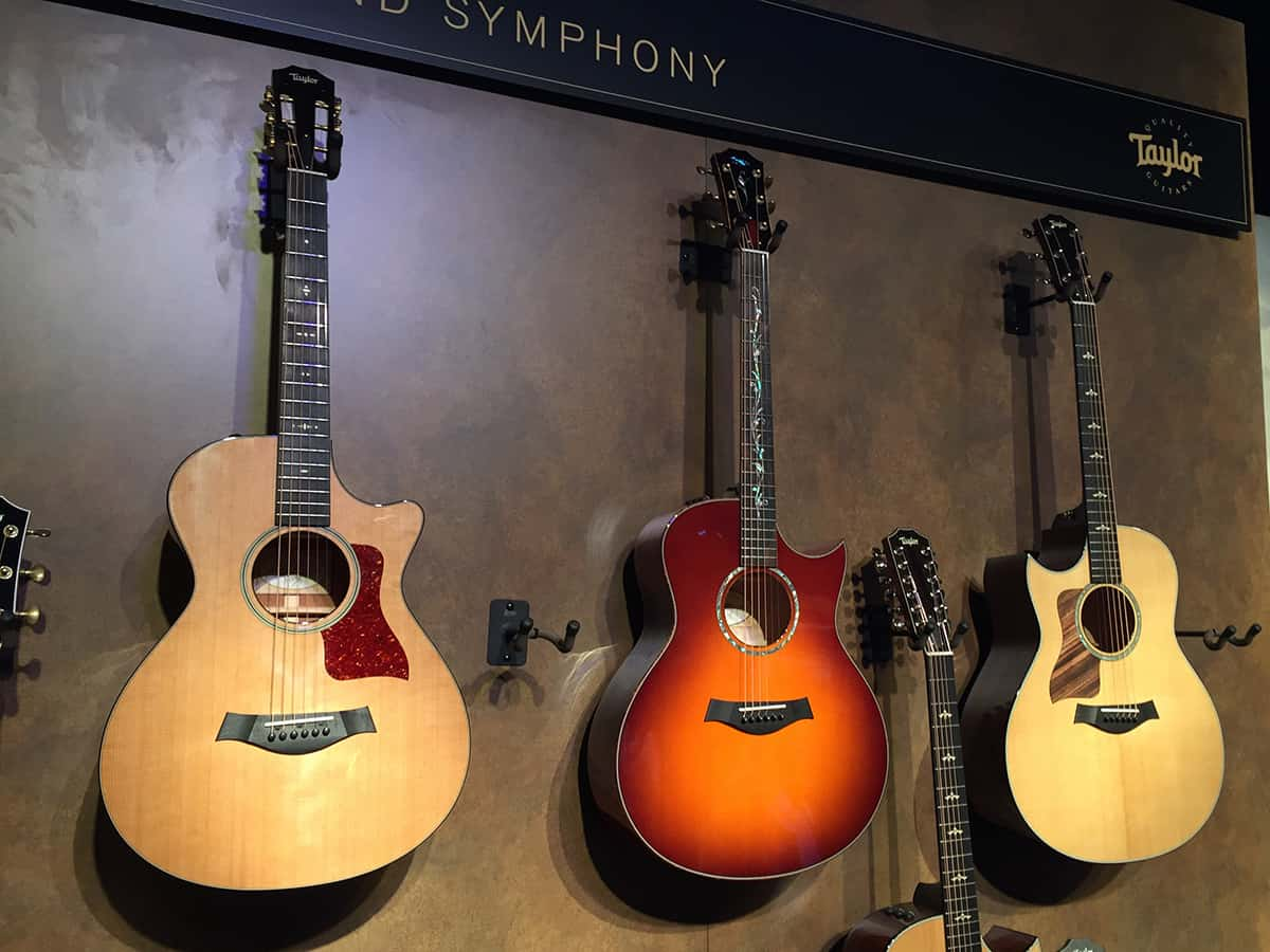 Taylor Guitars at NAMM 2018