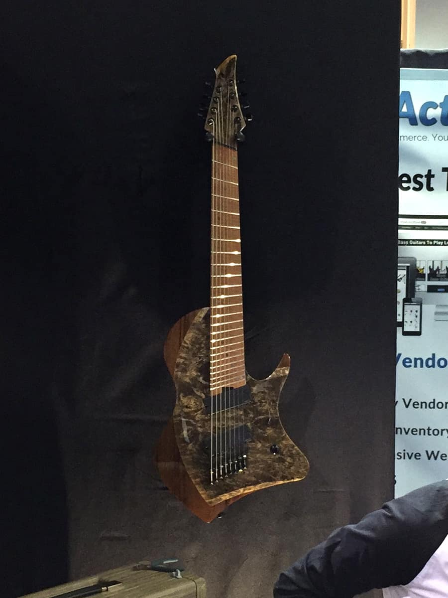 The Abasi 8-String Prototype at NAMM 2018