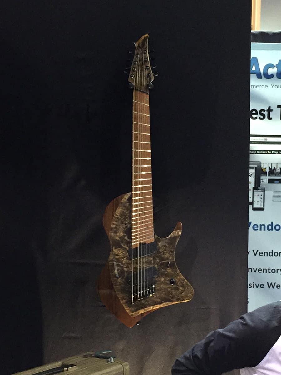 The Abasi 8-String Prototype at NAMM 2018