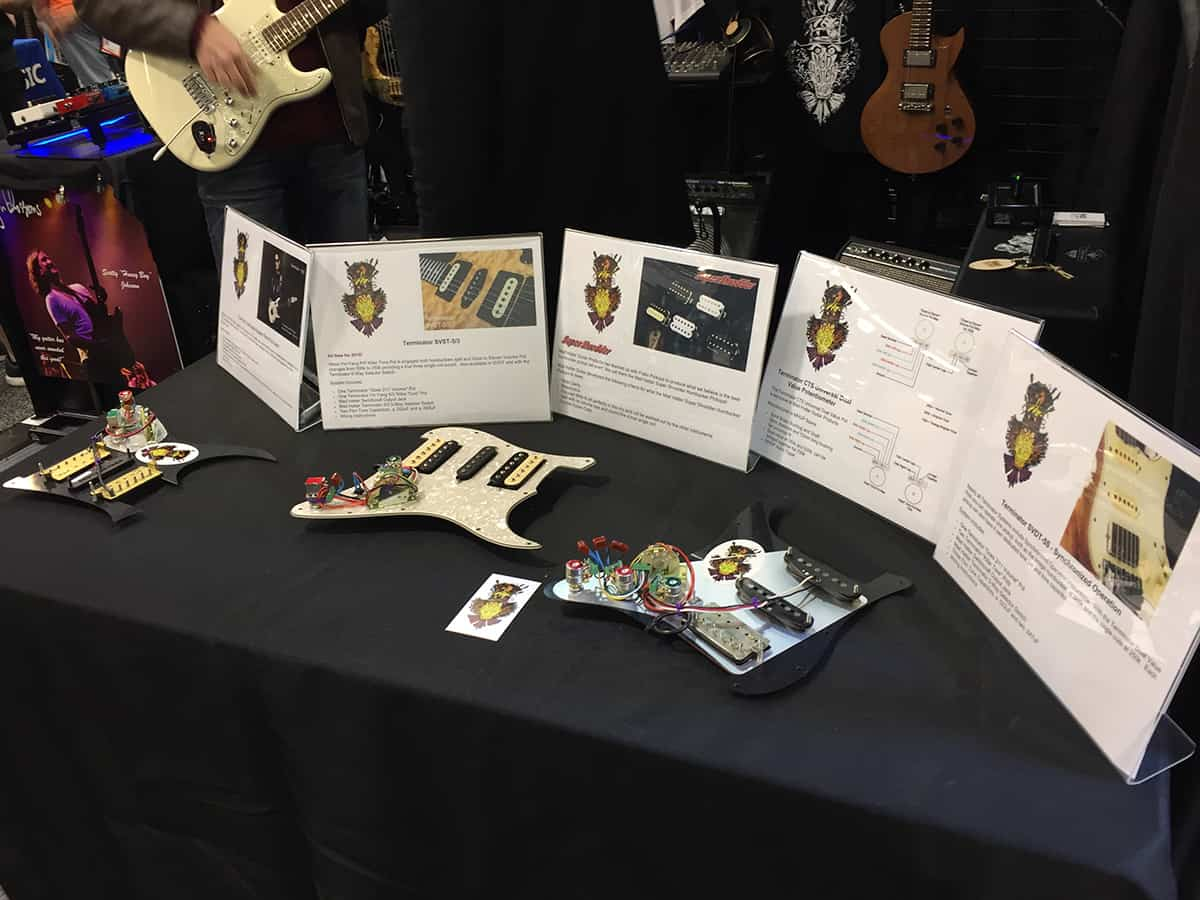 Mad Hatter Guitar Products at NAMM 2018