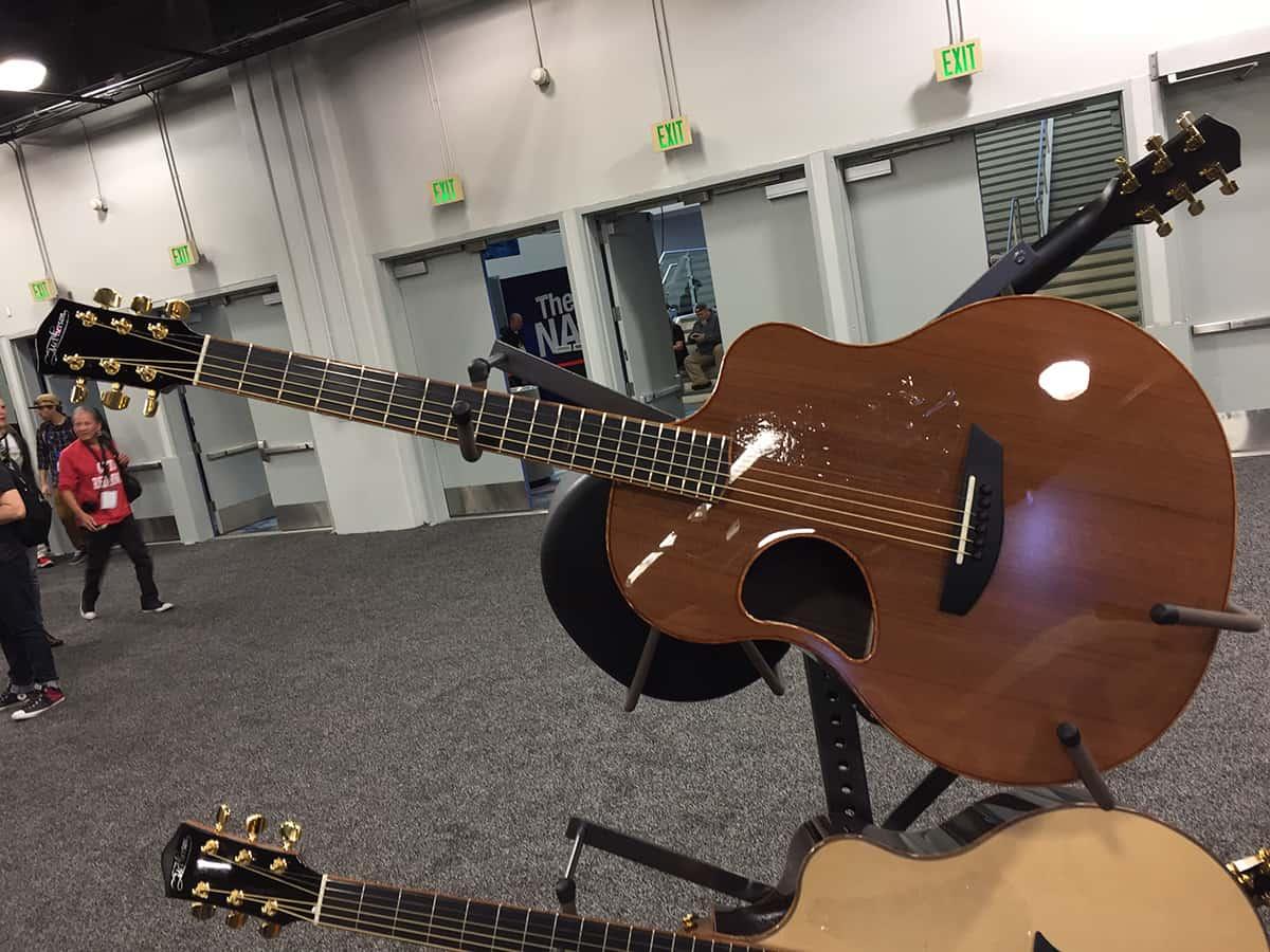 McPherson Guitars at NAMM 2018