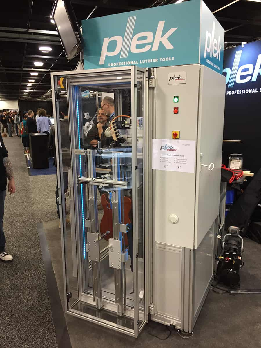 Plek at NAMM 2018